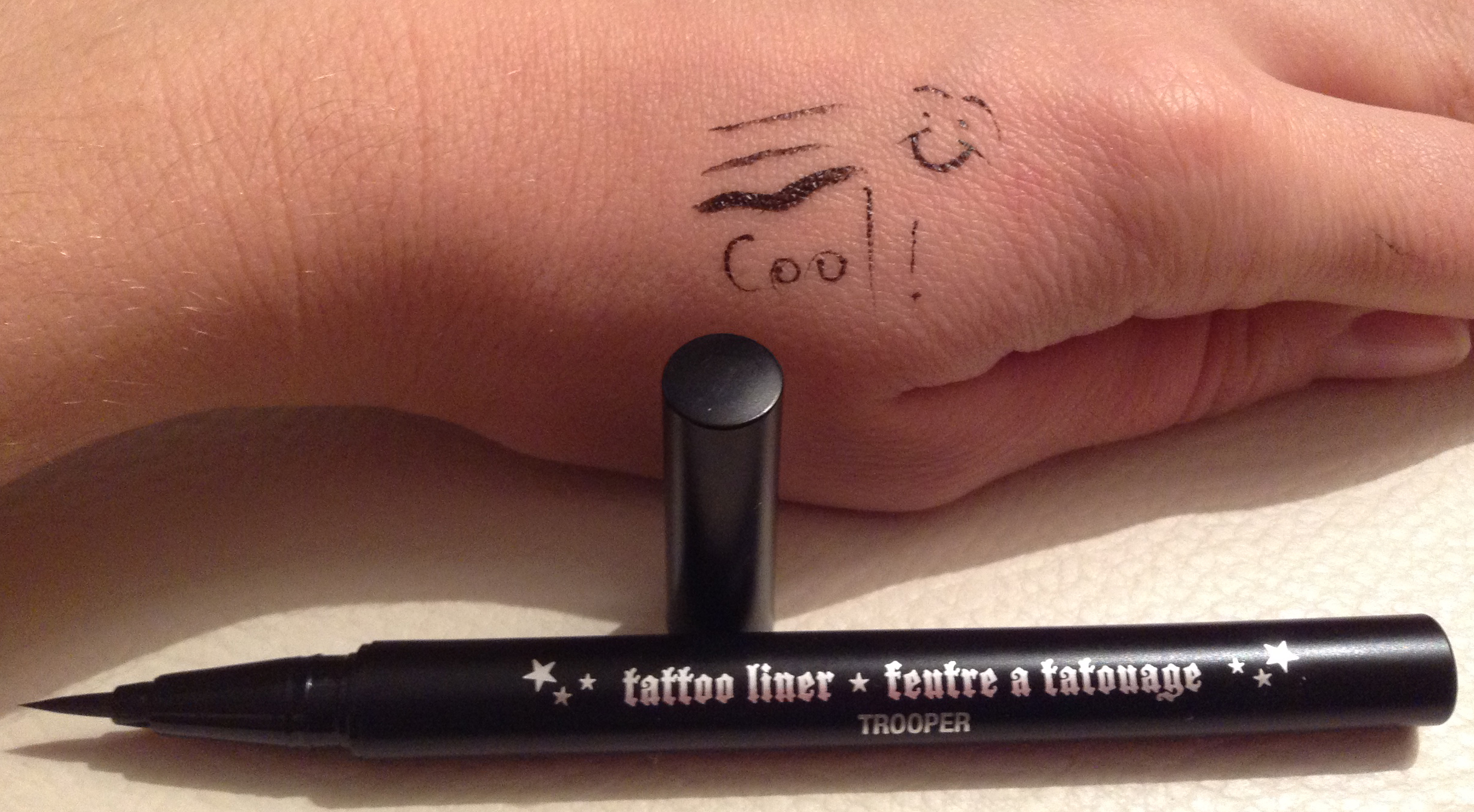 Kat Von D Tattoo Eye Liner In Trooper Fashion Rash
